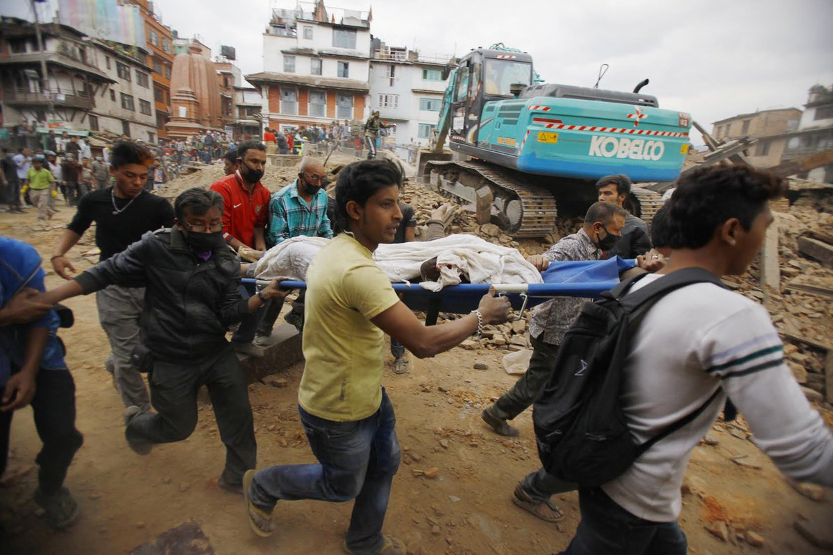 In the wake of the devastating 7.8 magnitude earthquake in Nepal, JDC is there. Donate now: https://t.co/ghPRL22hUy http://t.co/Aj5blYEp3j