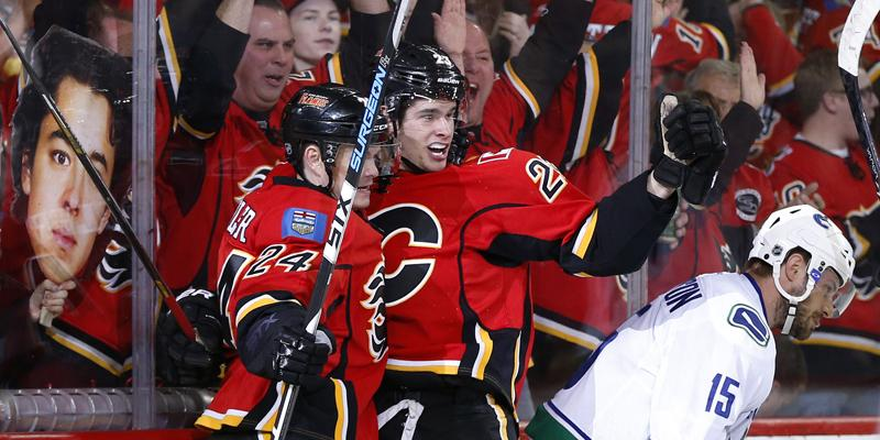 WE'RE MOVING ON TO ROUND TWO! THE #FLAMES WIN THE SERIES! #NEVERQUIT http://t.co/OPDape8rLy