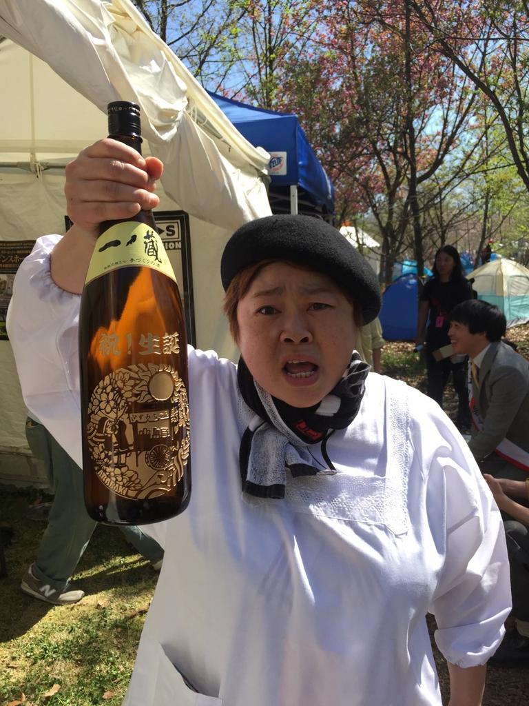 仙台ロックフェスアラバキなう!アラバキ15周年、人情居酒屋ズミちゃん5周年、そして増子さん49才オメデトウヽ(´▽`)/ http://t.co/D8rMUFvOMN