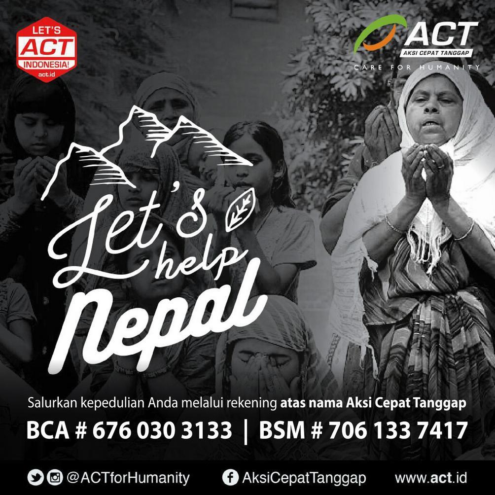 Media Lokal Nepal: Korban Meninggal 4.264, Luka-luka 6.862