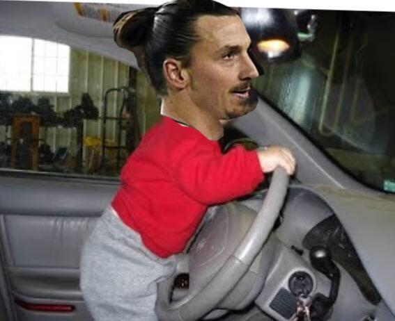 RT @ZIatanFacts: When Zlatan was born he drove his mum home from hospital. #ZlatanFacts http://t.co/i36xTS3aHe