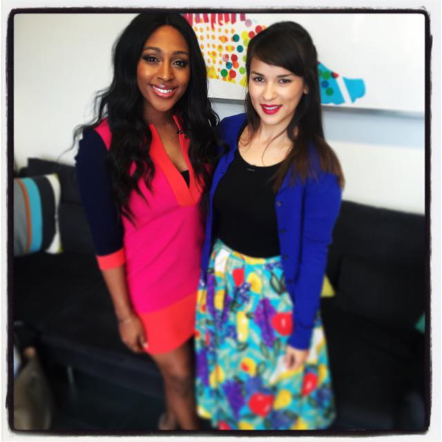 RT @rkhooks: Having a cup of tea with the lovely @alexandramusic in the @sundaybrunchc4 green room - catch us on the show later http://t.co…