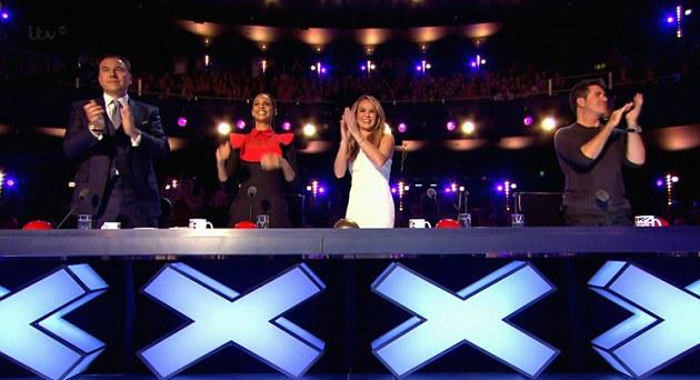 Last night's @BGT peaked at a whopping 11.9m, with an average of 10.5m! 👏 Thank you all for tuning in! http://t.co/PineJMizUL