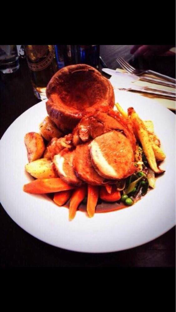 Our Freshly prepared Roast Dinner is available today in the @SugarHutCafe from 12pm until 4pm http://t.co/DvzaxOqk28
