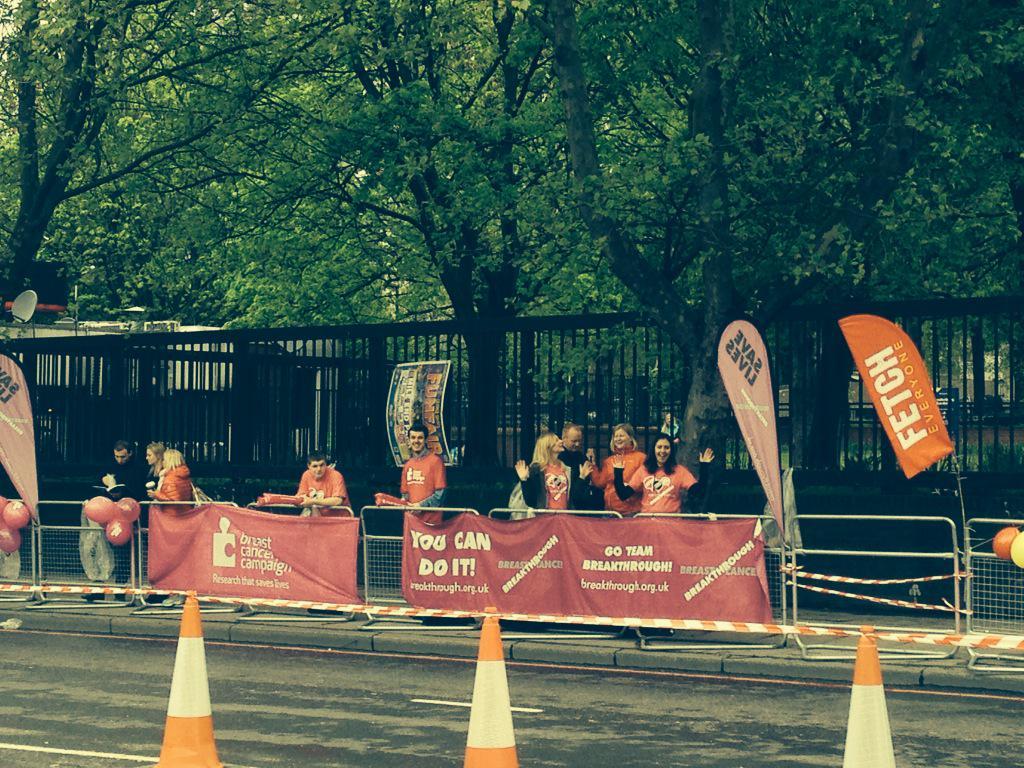 RT @BCCampaign: Mile 22 is ready to go! @BreakthroughBC #LondonMarathon @LondonMarathon http://t.co/dBYl7zMZlI