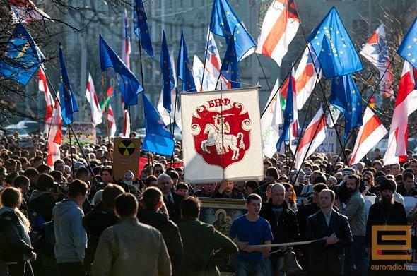 """""""Оккупанты - вон"""", - белорусские активисты подготовили """"теплый прием"""" путинским байкерам - Цензор.НЕТ 6550"""