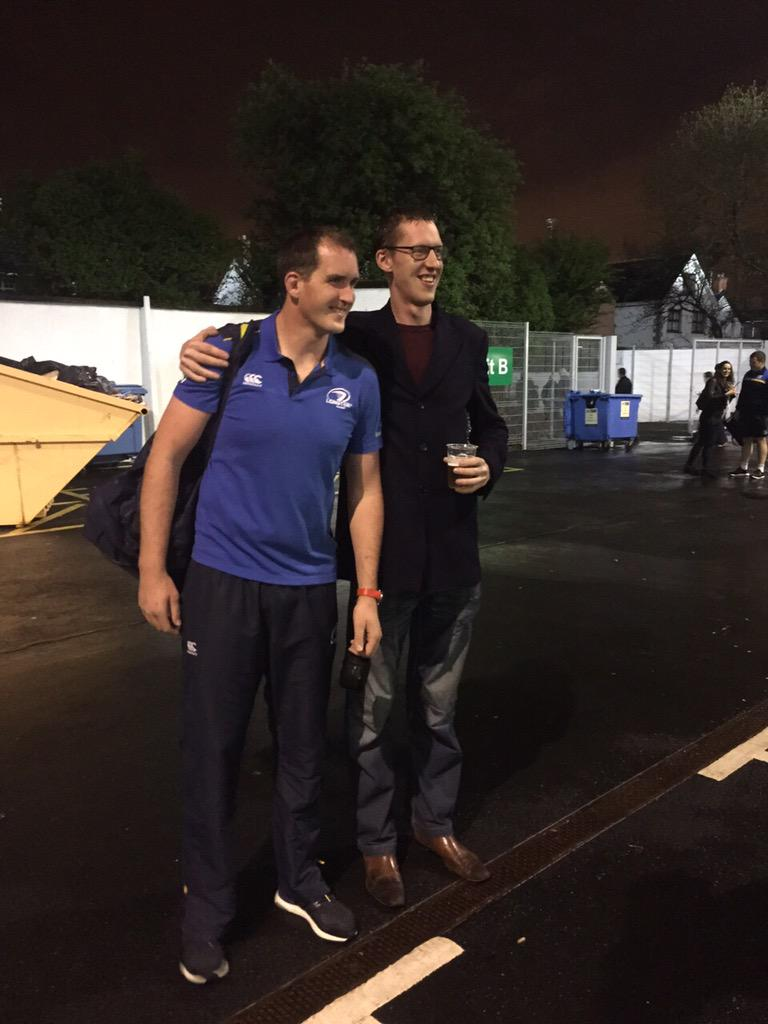 Been telling @DevinToner4 for years that one of my mates was taller than him #bigmen http://t.co/Np6ezvrzva