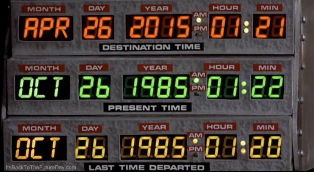 Today is the day, Back to the Future fans! http://t.co/Ag9Gy8e7MI
