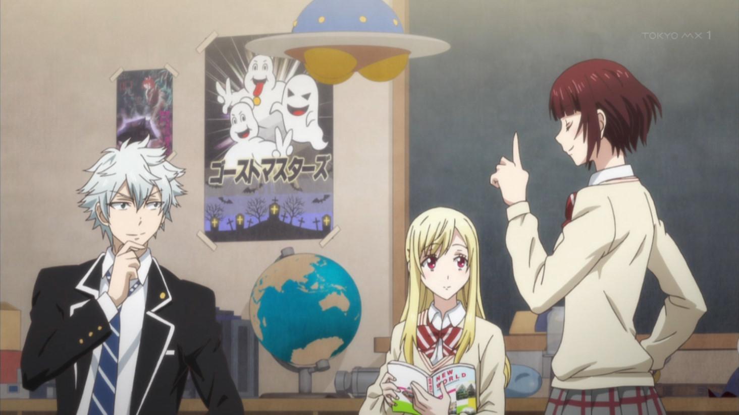 便利で楽しそうな部室 #yamajo #yamajo_anime #やまじょ #tokyomx http://t.co/q1rsObqB40