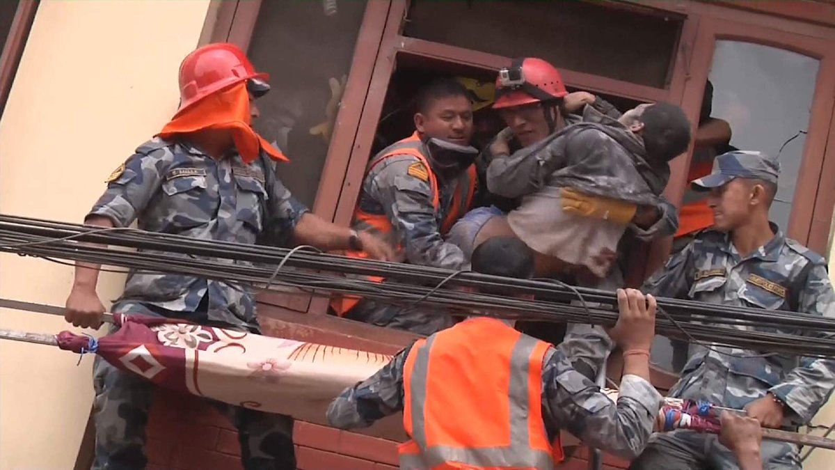 Nepal Earthquake: Rescue Operations