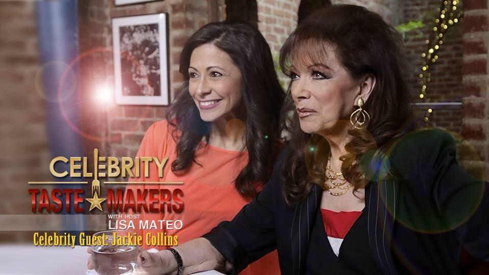 RT @LisaMateoTV: Tonight on @TasteMakers_TV @jackiejcollins joins me @JoeAllenNYC for her favorite meal. 5:30 pm @PIX11 Join us! http://t.c…