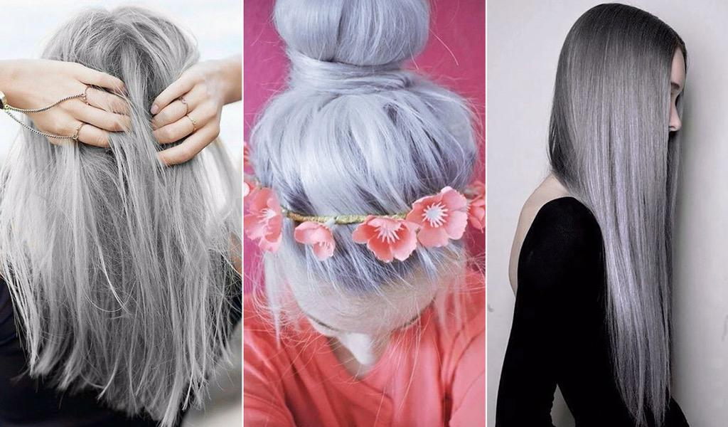 Grey is the new black for hair according to the hashtag #grannyhair trending on social networks.Do you love the grey? http://t.co/jZYR8d6pD1