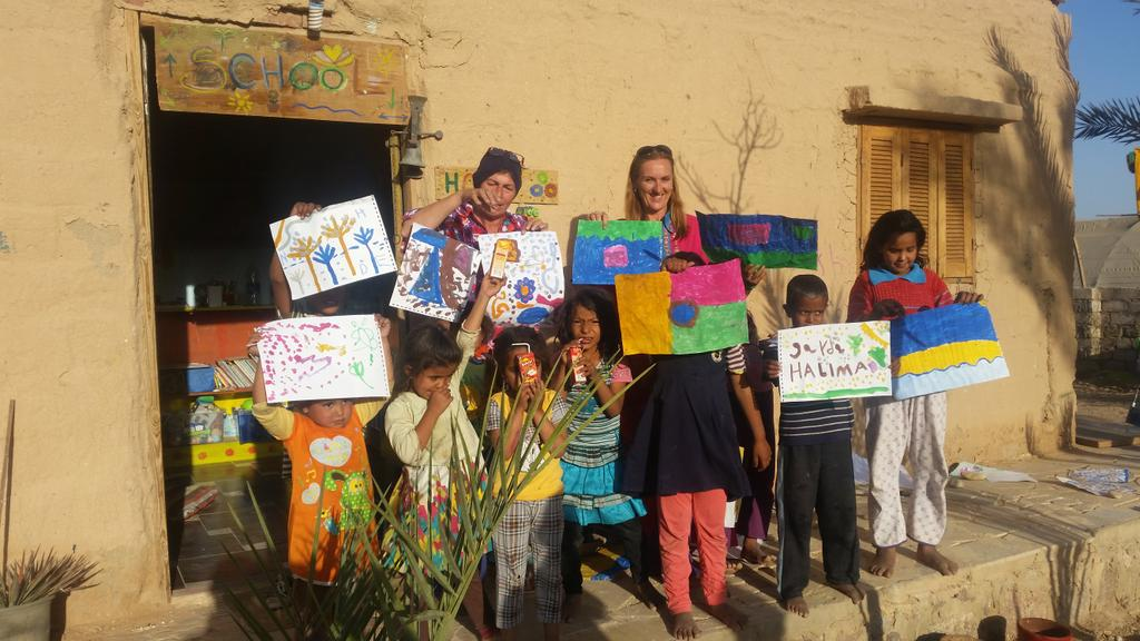 Habiba Organic Farm On Twitter After School Learning Center Art