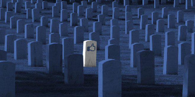 Il cimitero di Facebook