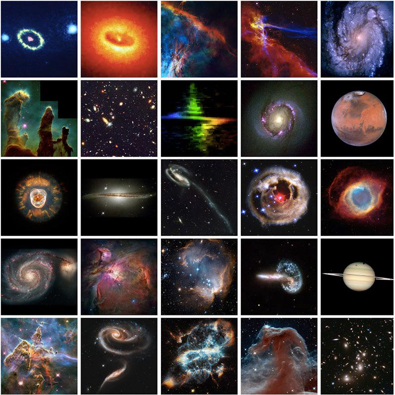NASA festeggia i 25 anni di Hubble con un documentario su YouTube