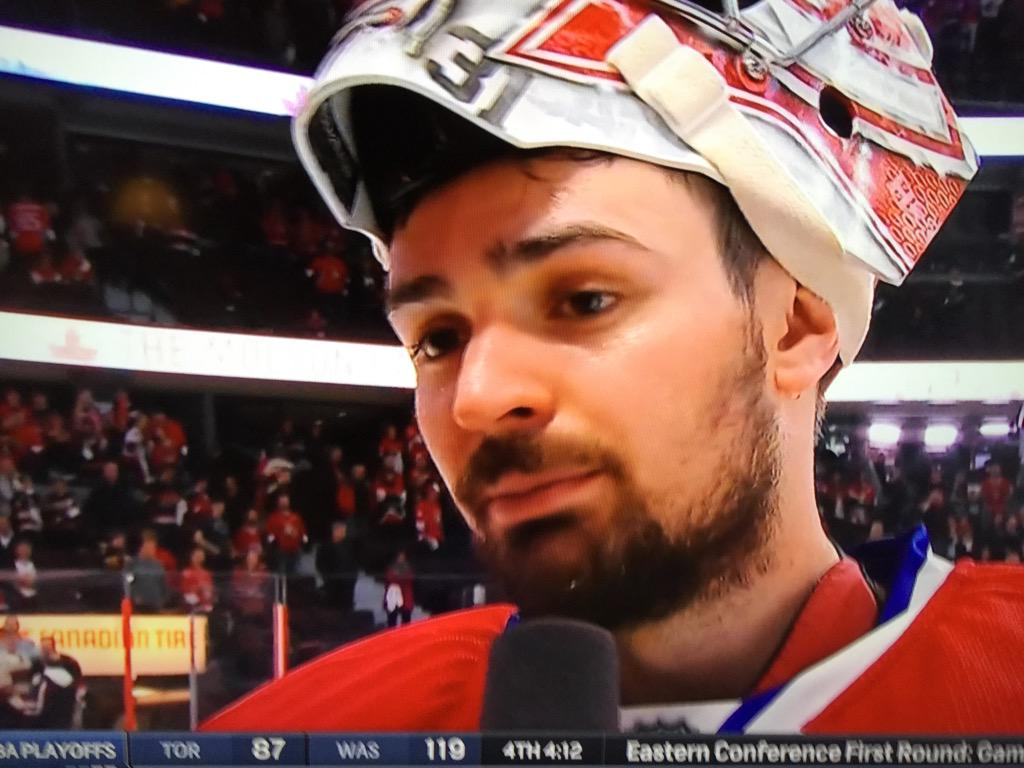 Carey Price's heart rate has finally gone down -- from, like, 51 to 50. http://t.co/RvK9i0Xkd5