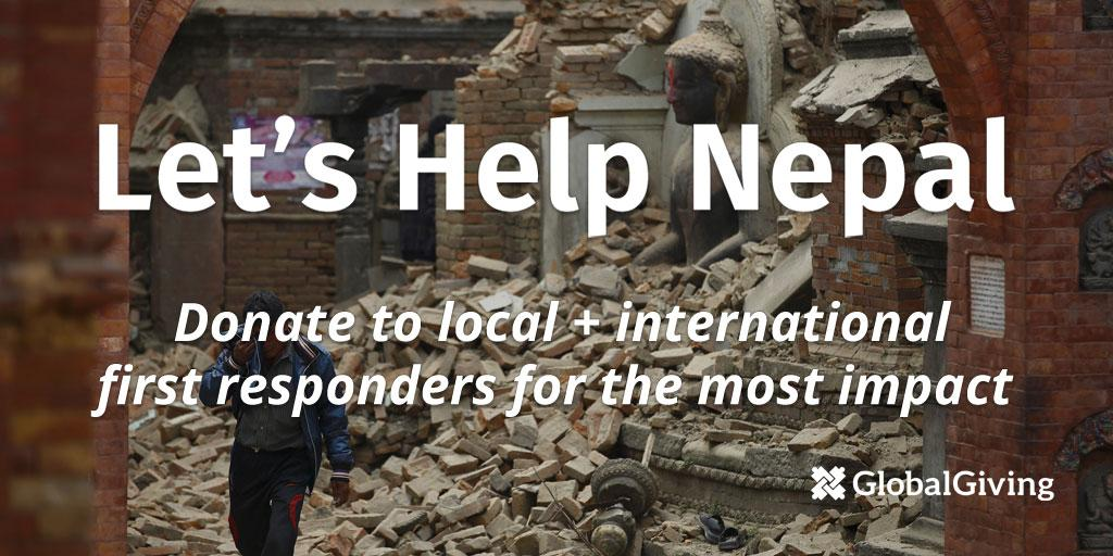 7,500+ GlobalGivers have raised $450k+ for #NepalEarthquake relief already. Join them at http://t.co/CuXf72IRXU http://t.co/1F6KCpdFAK