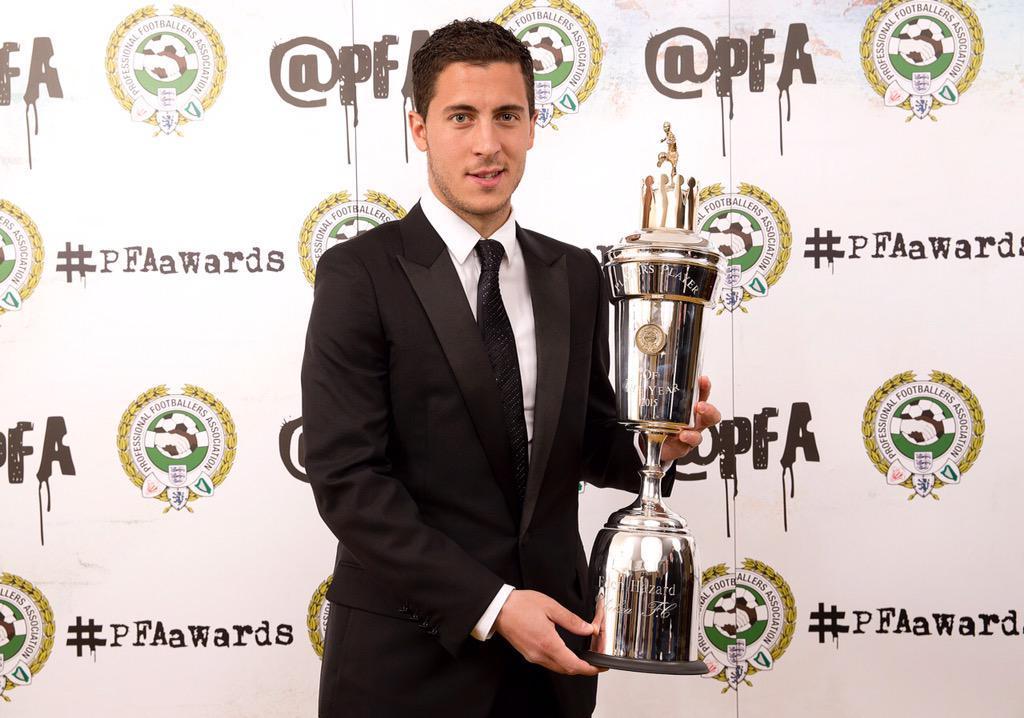 Eden Hazard يتوج بجائزة أفضل