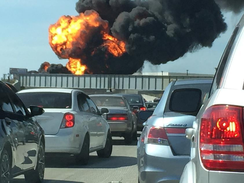 Takner truck explosion
