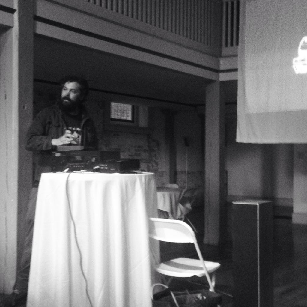 Introduction of the  Hypnagogia Film Collective film showing. #InnovateLIVE http://t.co/HXmA7IHnr2