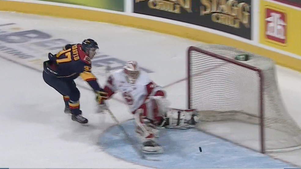 MUST WATCH! @cmcdavid97 scores incredible shorty to put @ErieOtters up 2-0 in 1st: http://t.co/r4vPEb9a0q http://t.co/5ycPWxaIxZ