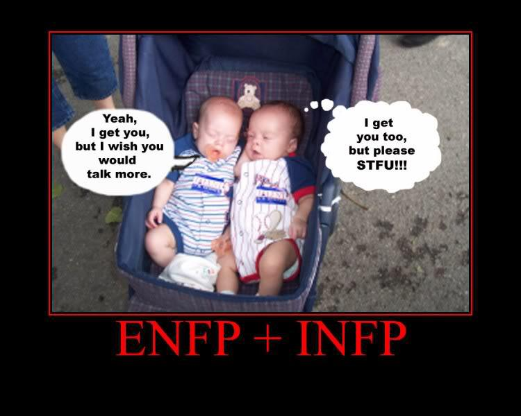 Infp and enfp compatibility