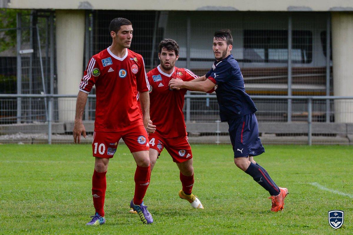 Cfa Girondins : Pierre Laborde au Stade Montois - Formation Girondins