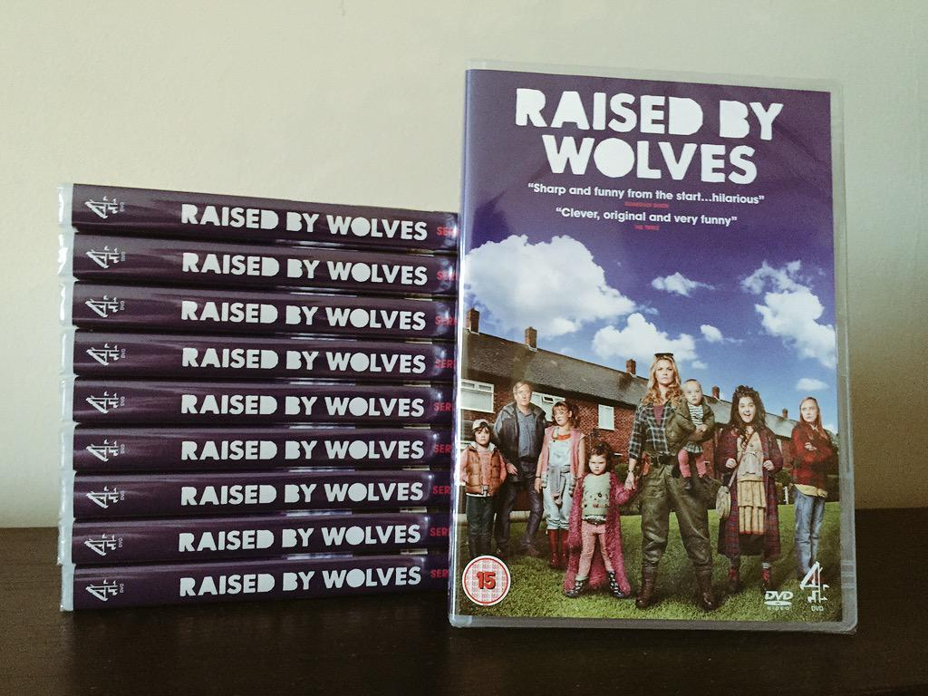 RT @elliot_gonzalez: #RaisedByWolves is out today on DVD. Enter here for your chance to #WIN 1 of 10 copies: http://t.co/k33ycASkQu @4DVD h…