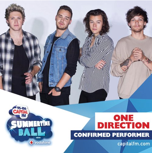 The guys have just been announced as the first act for the @CapitalOfficial Summertime Ball!