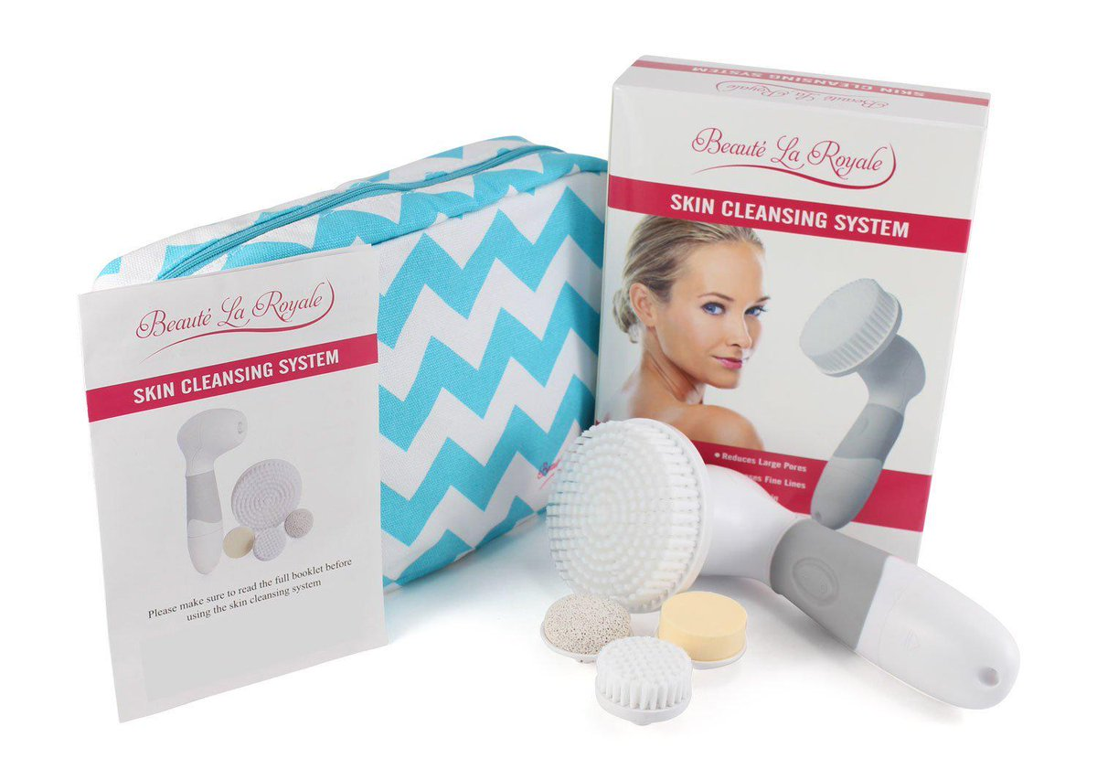 travel facial and skin cleansing brush