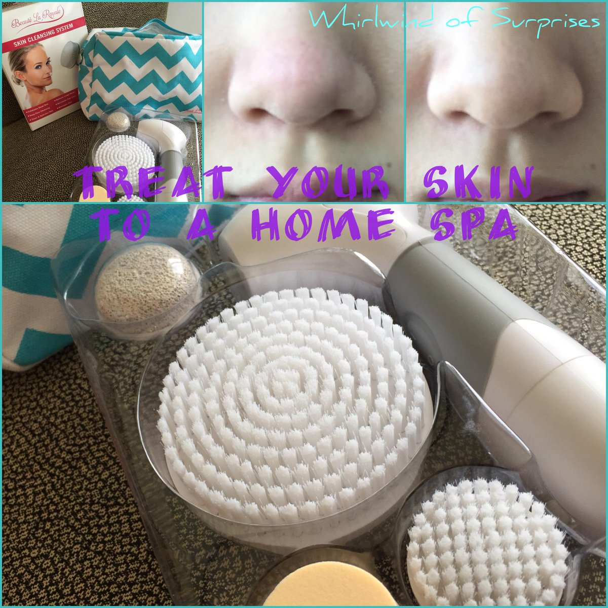 gentle facial and skin cleansing brushes
