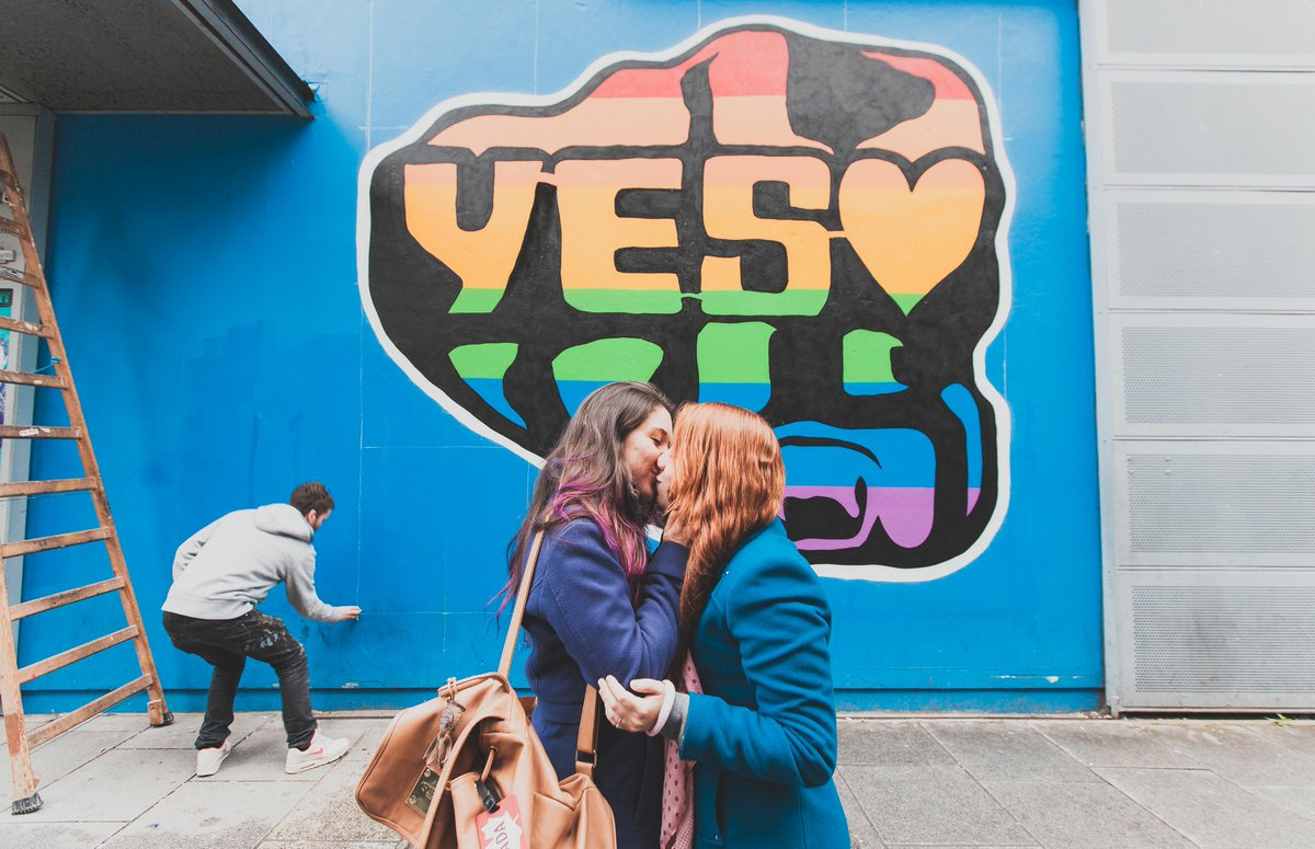 The year in gay 2015 for Dublin gay mural
