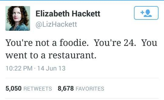 Sure, it's been almost 2 years, but if anything time has made this @LizHackett tweet even more relevant. http://t.co/dQGLn546Oi