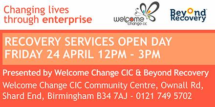A big THANK YOU to all who came to our Recovery Open Day on Fri 24 Apr @WelcomeCIC & @beyond_recovery #BrumCityDrive http://t.co/EWPdfCYUel