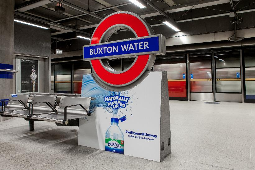 Did anyone spot this? Canada Water tube station renamed @buxtonwater for #LondonMarathon http://t.co/4NB9WRTa5m http://t.co/SH62qxqP4X