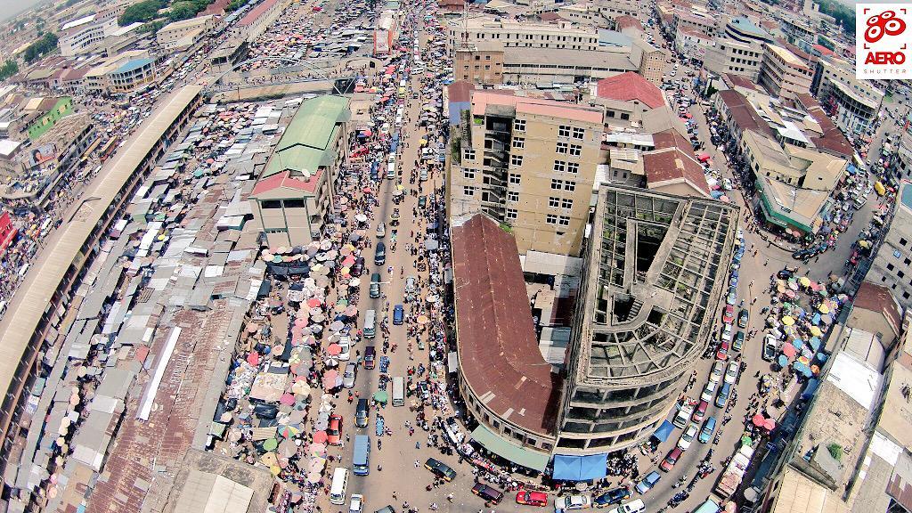 Image result for makola market aerial shot