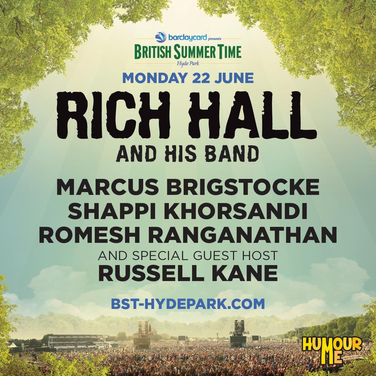 Pre-Sale tickets for Hyde Park BST festival http://t.co/QrPR4GXgYj http://t.co/EovLrbXf6d
