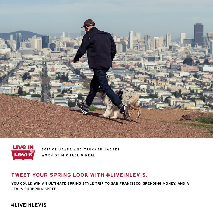 RT @ComplexMag: Win the ultimate @LEVIS experience with a trip to San Fran, $$ + more #LiveInLevis. #giveaway http://t.co/gpYGJO2BGo