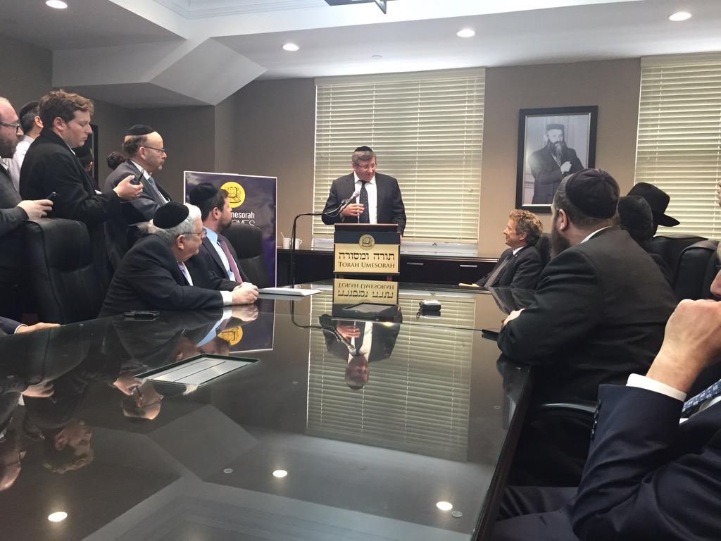 Jewish leaders meet with @RandPaul in Brooklyn. @EzraFriedlander http://t.co/U5cq4C1B1A