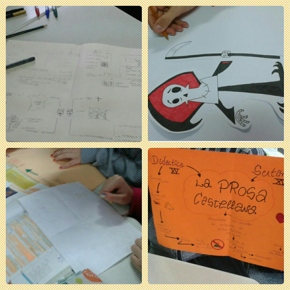 Trabajamos la prosa castellana con mapas mentales. Lengua. 1° Bachillerato http://t.co/QXfZM8RC0l
