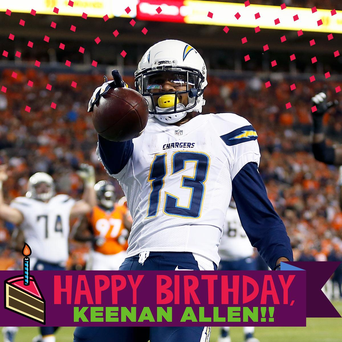 """San Diego Chargers Happy Birthday Pictures: NFL On Twitter: """"Happy Birthday To @Chargers WR"""