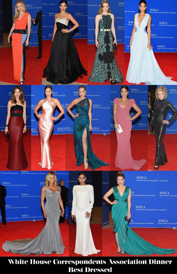 Who Was Your Best Dressed At The White House Correspondents' Association Dinner? http://t.co/EwPFcmGoZF http://t.co/bHMC7cuNKE
