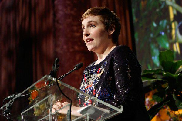 """Lena Dunham talked about why she's an """"imperfect feminist"""": http://t.co/GC7psI0BxT http://t.co/7QCDXMh8y2"""