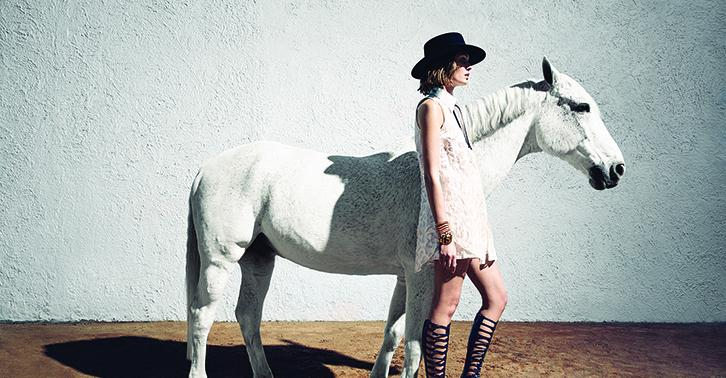 Give your boho looks a modern edge with a graphic black and white color palette on ShopBAZAAR. http://t.co/zW68fbsFm2 http://t.co/XxGNlAuKl3