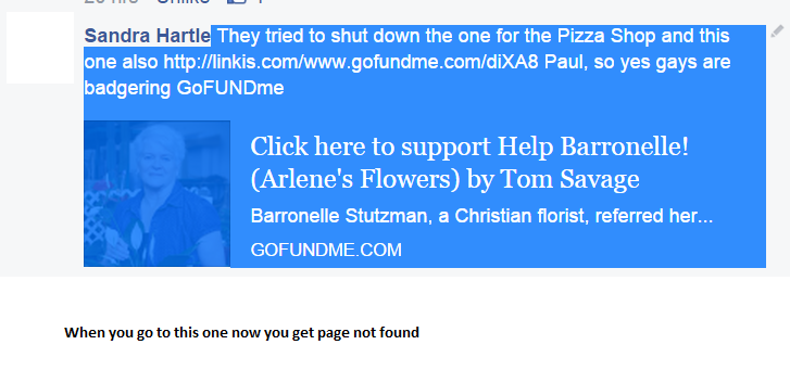 GoFundMe bans Christian fundraising pages including Arlene's Flowers