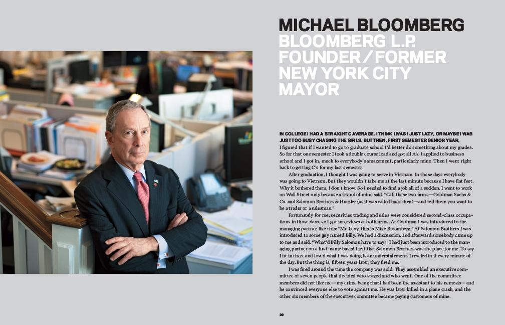 RT @GillianZoeSegal: Thank you @MikeBloomberg  for sharing your story/wisdom in GETTING THERE: A Book Of Mentors  http://t.co/2uruUjgqaW ht…