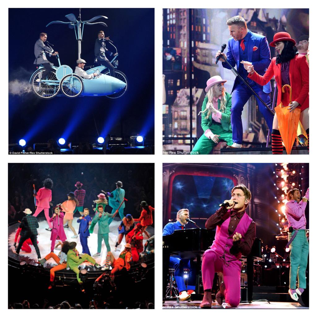 The Boys and the show look fucking amazing …Wow!!!!! xxxx http://t.co/DL3IRxZYH3