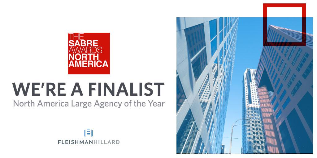 So proud: We've been named a #SABREAwards North America Agency of the Year finalist. http://t.co/FDykyirJcI http://t.co/AVNA6KO55J