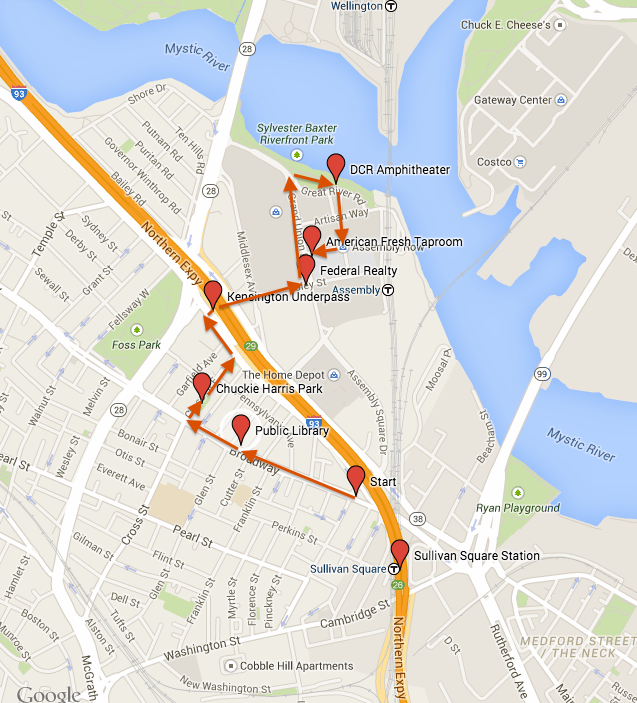 Here is the route for tomorrow's free walk - #WalkTheVille on 4/28, 5pm! http://t.co/0skhz51rZA http://t.co/Ab3GbWyILj