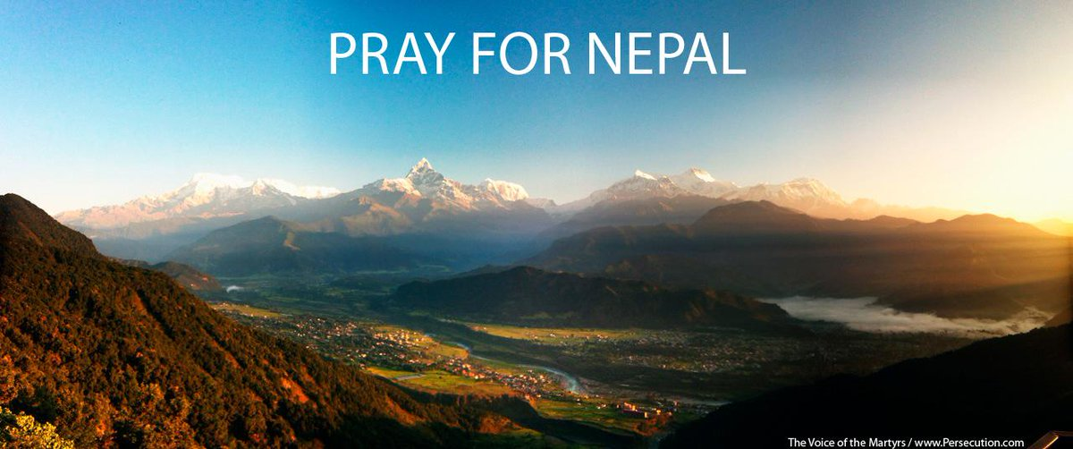#Pray for the people of the beautiful country of #Nepal as they recover and rebuild after the earthquake. http://t.co/x1hyqpMSvH